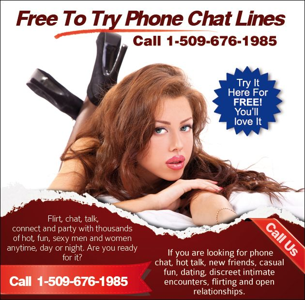 Free trial chatlines