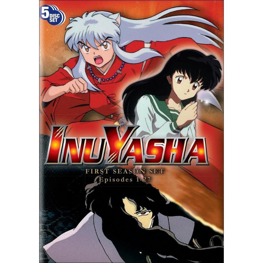Inu Yasha Season 1 [5 Discs] Anime, Inuyasha, Anime dvd