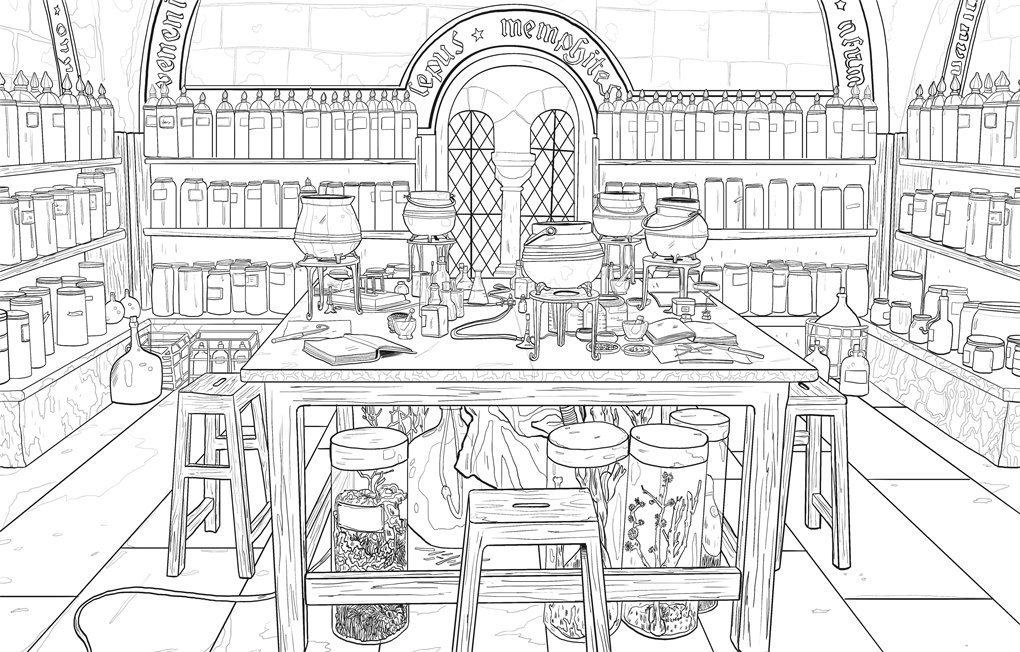 Pin By Ashley Vankempen On Coloring In 2020 Harry Potter Coloring Pages Harry Potter Coloring Book Harry Potter Journal