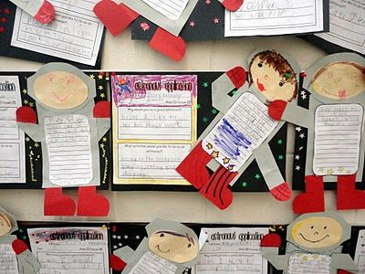 Some very neat ideas on educational crafts/activities for 1st graders - great ideas to use as a springboard!