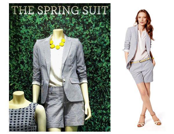 spring suits women | Fashionably Legal | Pinterest | Short suit