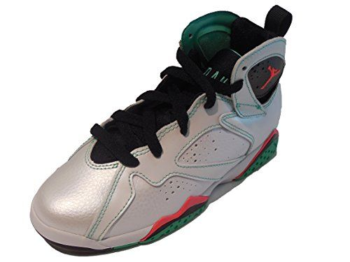 on sale bffd7 35ad4 nike air jordan 7 retro 30th GG hi top trainers 705417 sneakers shoes uk 8  us 9Y eu 425 white infrared 23 black verde 138   Want to know more, ...