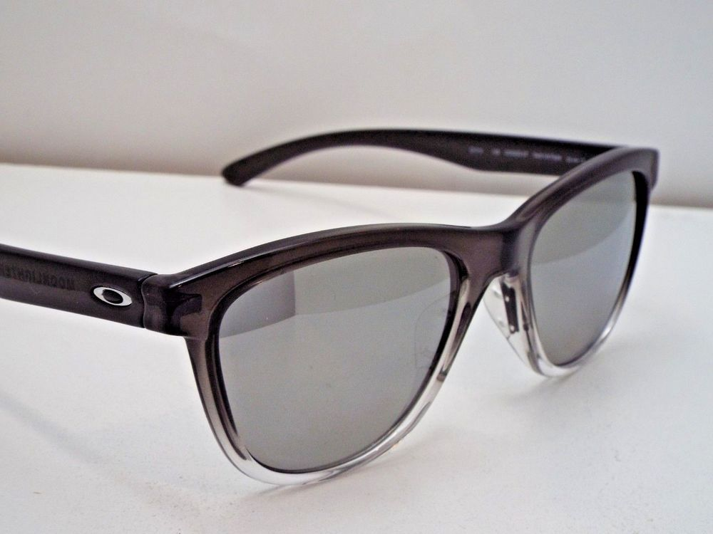 8fd63f502a Authentic Oakley OO9320-07 Moonlighter Grey Ink Chrome Idm Polar Sunglasses   210  fashion  clothing  shoes  accessories  unisexclothingshoesaccs ...