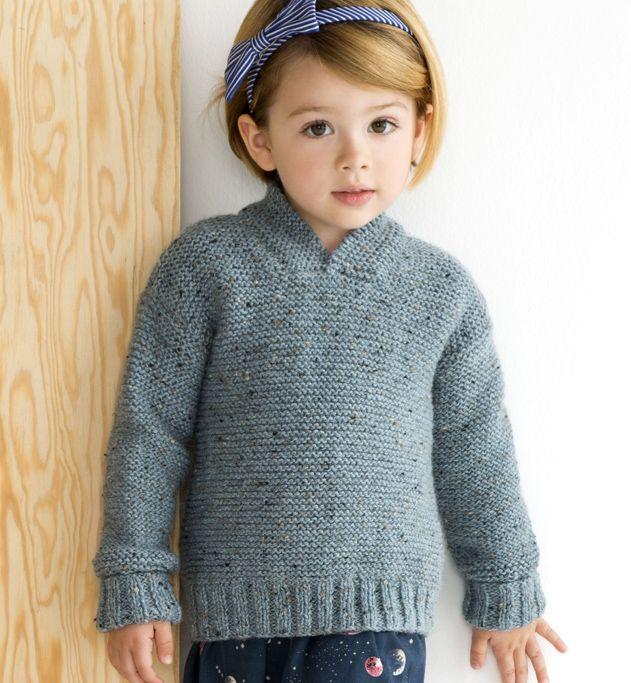 modele pull enfant