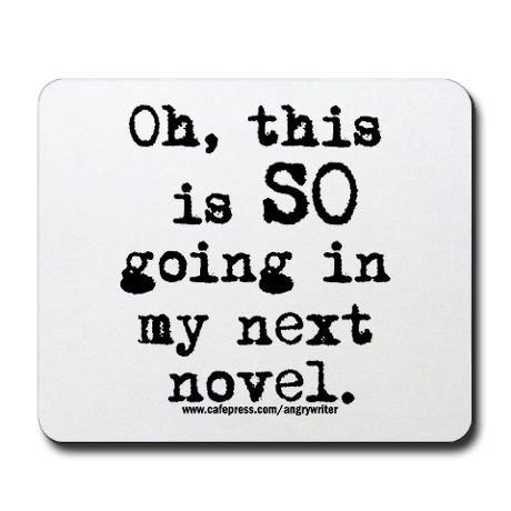 Next Novel Mousepad by AlwaysWriting - CafePress