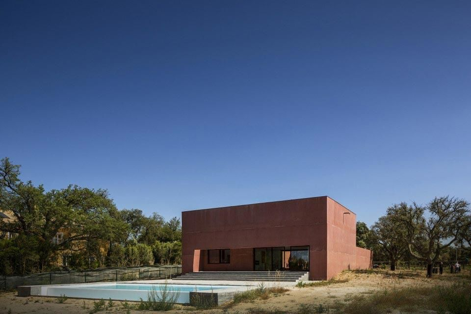 Miguel Marcelino, Three Courtyards House, Santo Estêvão, Benavente, Portugal 2012