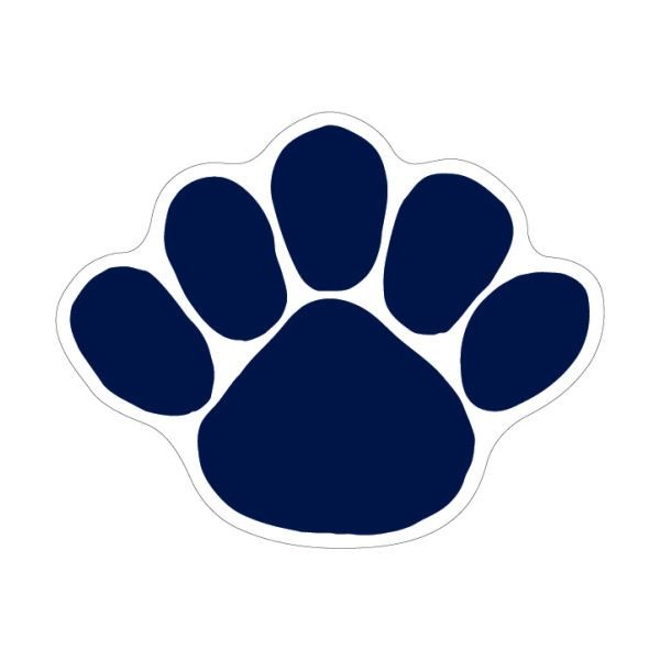 Penn State Nittany Lions 6 Paw Magnet Penn State Penn State