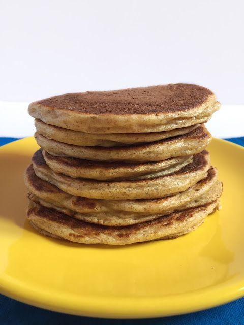 Whole Wheat Greek Yogurt Pancakes // Pancakes integrali allo yogurt greco
