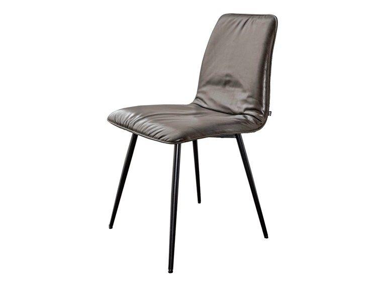 Sedie Tessuto ~ Sedia imbottita in tessuto maverick casual sedia kff sedie