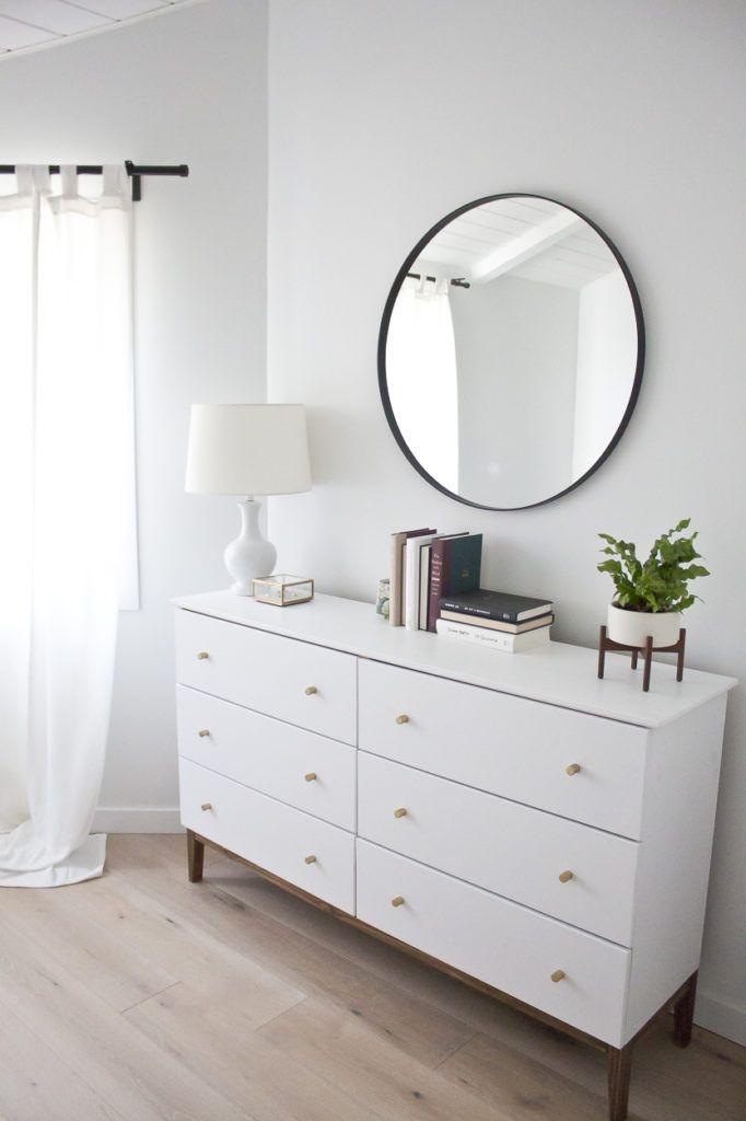 Modern White Dresser: A West Elm Inspired Ikea Hack | Ikea hack ...