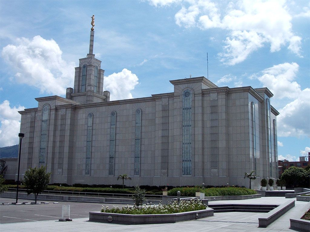 Click to enlarge this image of the Bogotá Colombia Mormon Temple