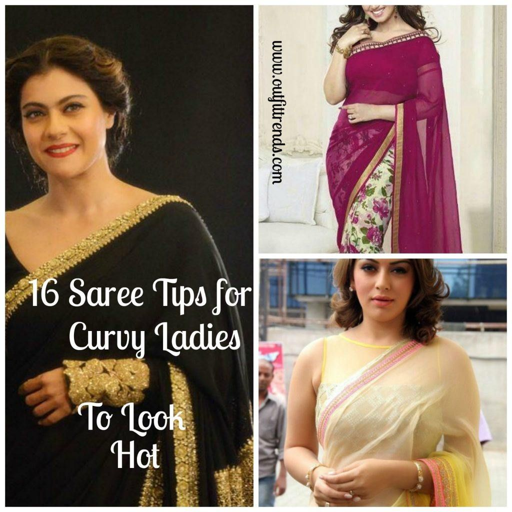 How to Wear Saree for Plus Sizeu Saree Tips for Curvy Ladies