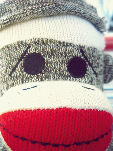 9fde515dbc77 Sock Monkey faces can have expression | Sock monkey | Sock toys ...