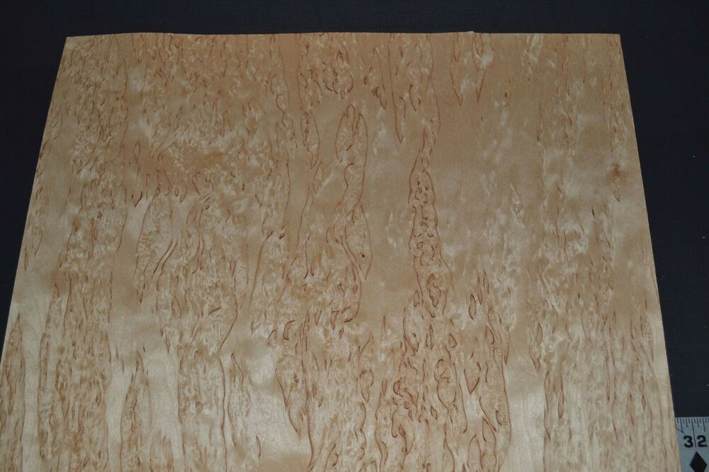 Karelian Birch Raw Wood Veneer Sheets 15 X 26 Inches 1 42nd Thick 8707 43 Unbranded Wood Veneer Sheets Wood Veneer Raw Wood