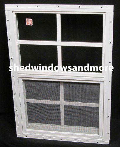 Small Shed WIndow 14 x 21 White Flush, Safety Glass, Playhouse Window, http://www.amazon.com/dp/B005GP9Q5Y/ref=cm_sw_r_pi_awdm_RMmDvb07QSVM6