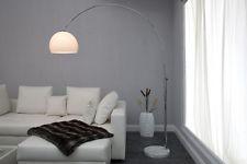 Wohnzimmer Stehleuchte ~ Bogenlampe big bow ii weiss stehlampe bogenleuchte stehleuchte