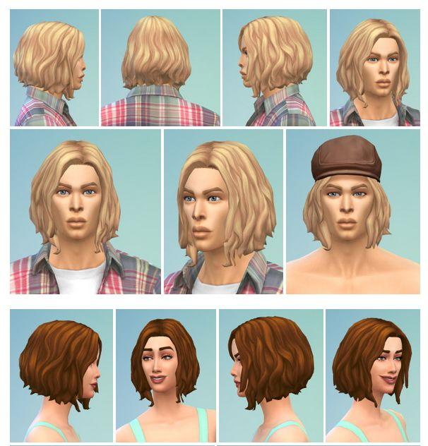 Bob With Longer Bangs At Birksches Sims Blog Sims 4 Updates Long Bangs Sims Sims 4