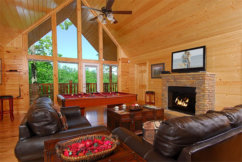 Cabins In Pigeon Forge And Gatlinburg Tennessee Cabin Living