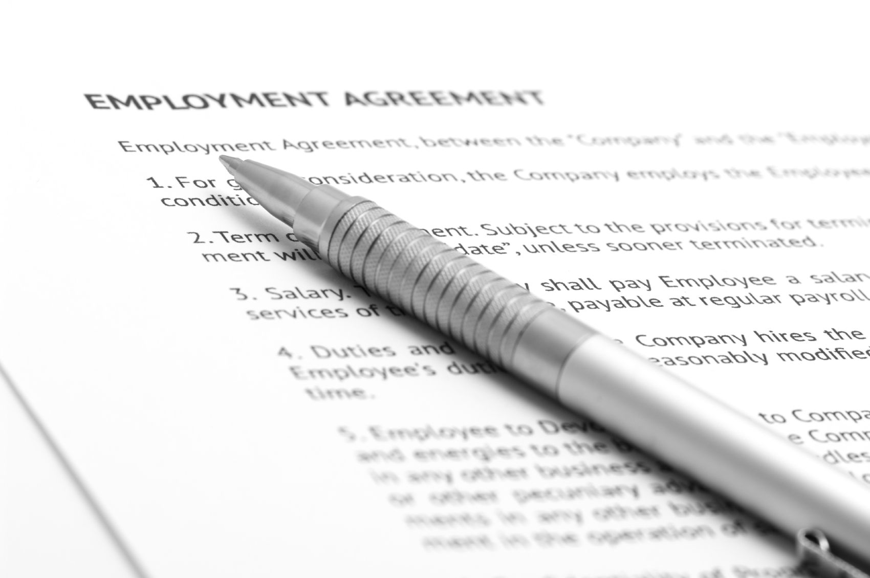A NonCompete Agreement Is A Document In Which An Employee Agrees