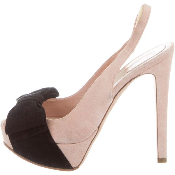 Christian Dior Slingback Platform Pumps discount for nice release dates sale online zWTiMzBSb