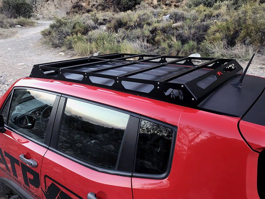 American Trail Products 37150001 Roof Rack For 15 20 Jeep Renegade Bu Jeep Renegade Roof Rack Jeep Cherokee Roof Rack