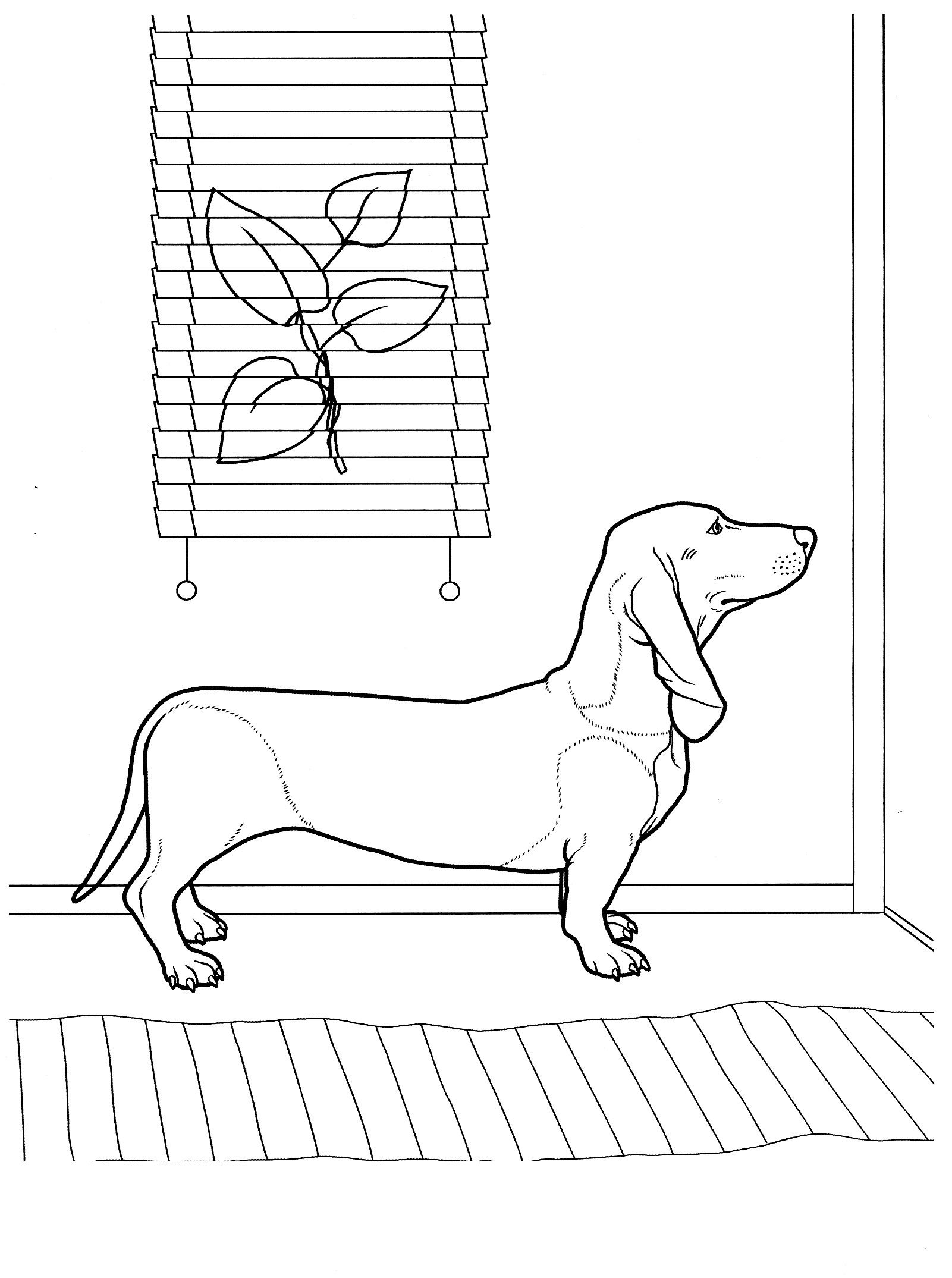 dog_coloring_pages_9 Teenagers coloring pages | Dogs | Pinterest
