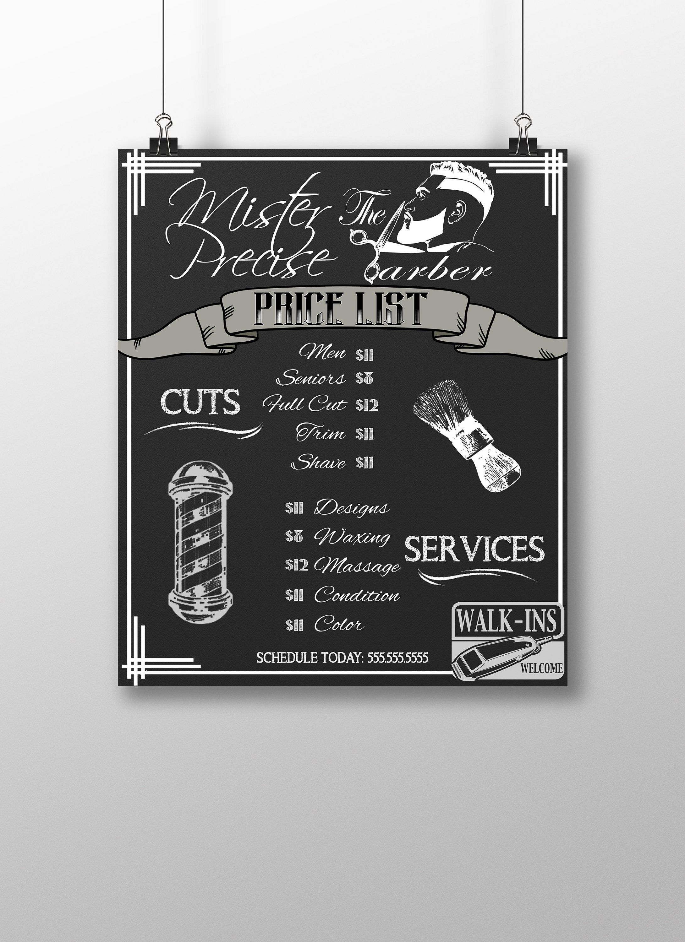 Pin on Business Signs Chalkboard Style