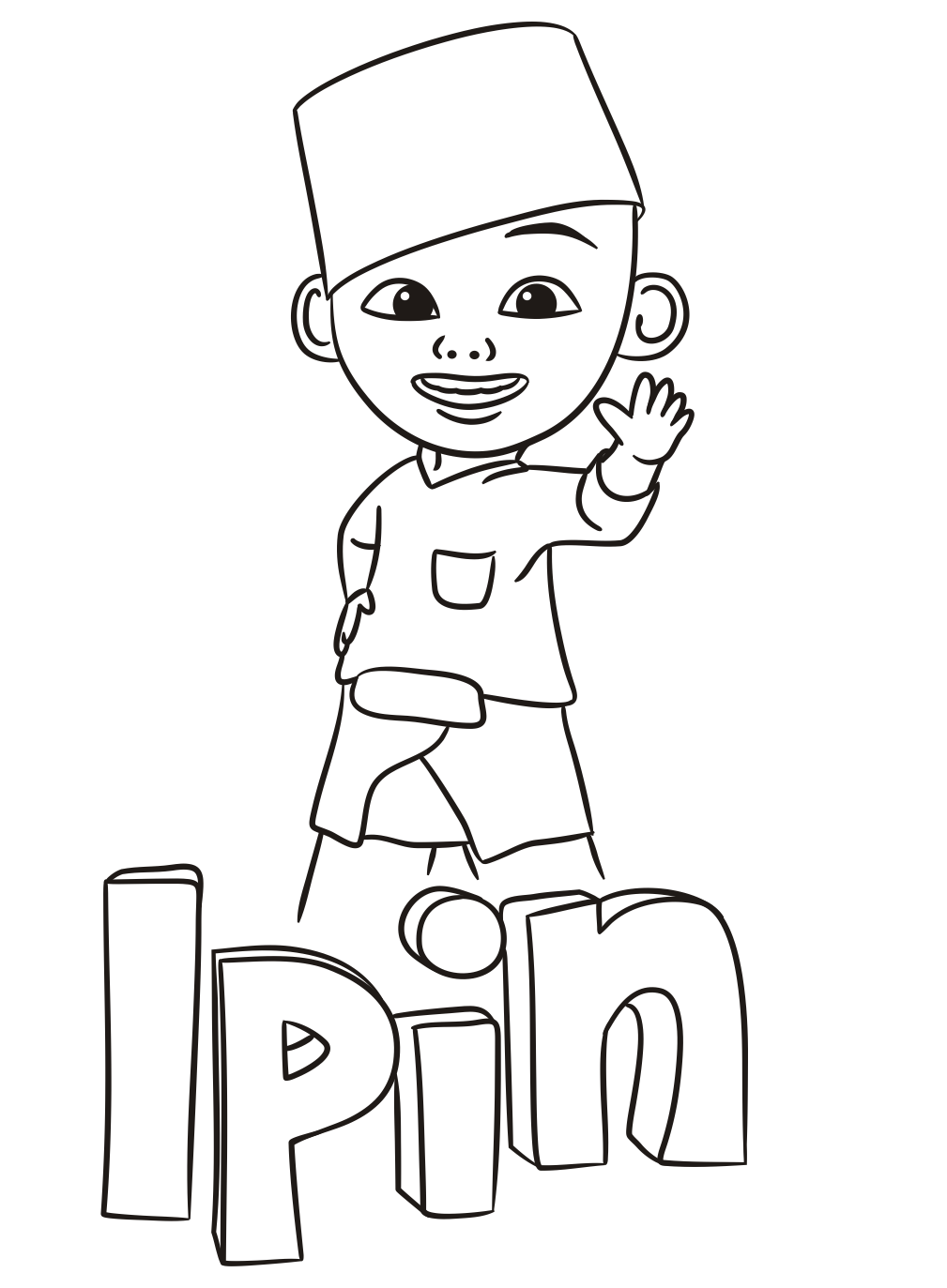 Upin Ipin Coloring Pages Plete Coloring Pages For