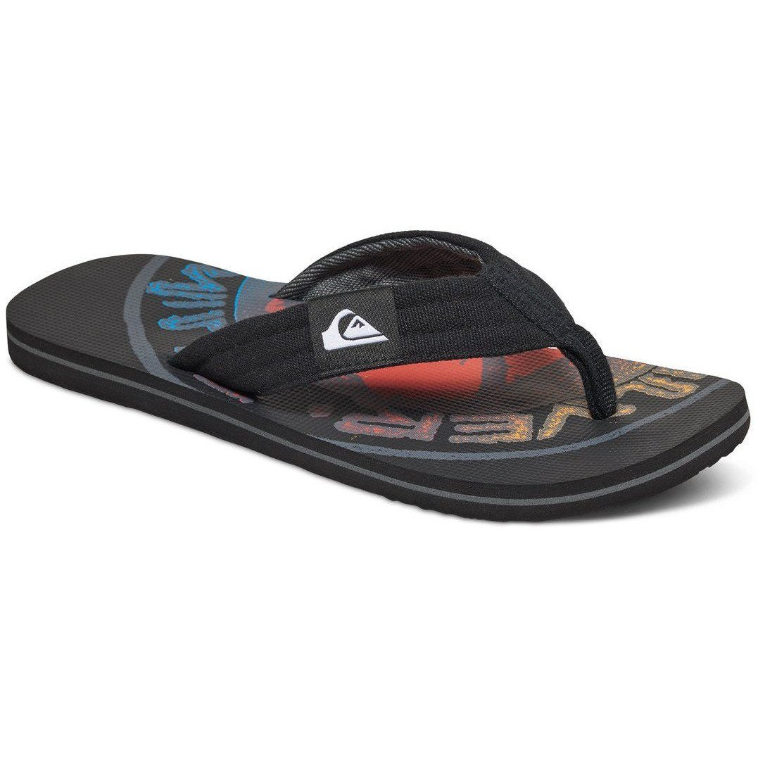 Quiksilver Island Oasis - Sandals - Sandalias - Hombre - EU 45 - Negro aUB4nUDHgI