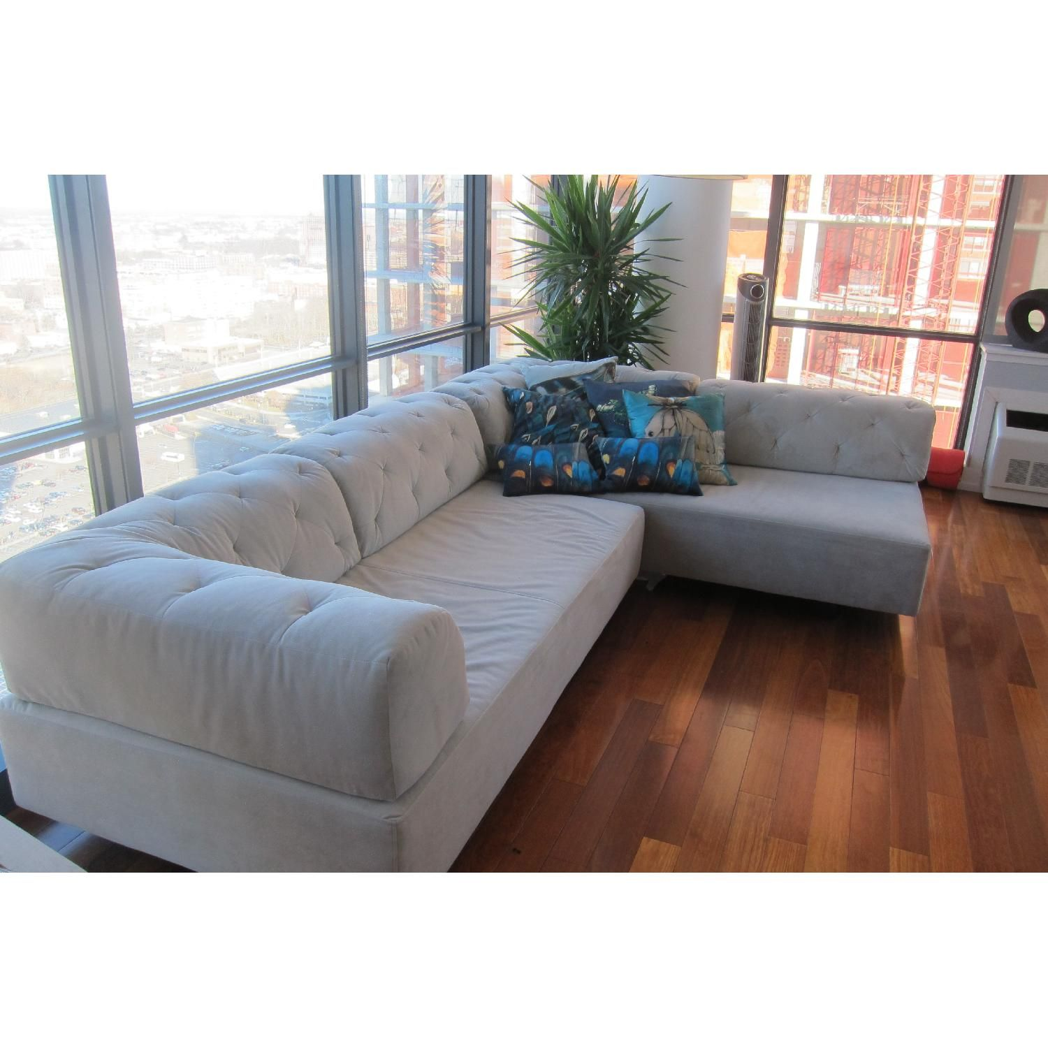 West Elm Tufted Tillary Sectional Sofa 5 Sofas