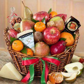 California Artisanal Cheese and Fruit Basket $69.95