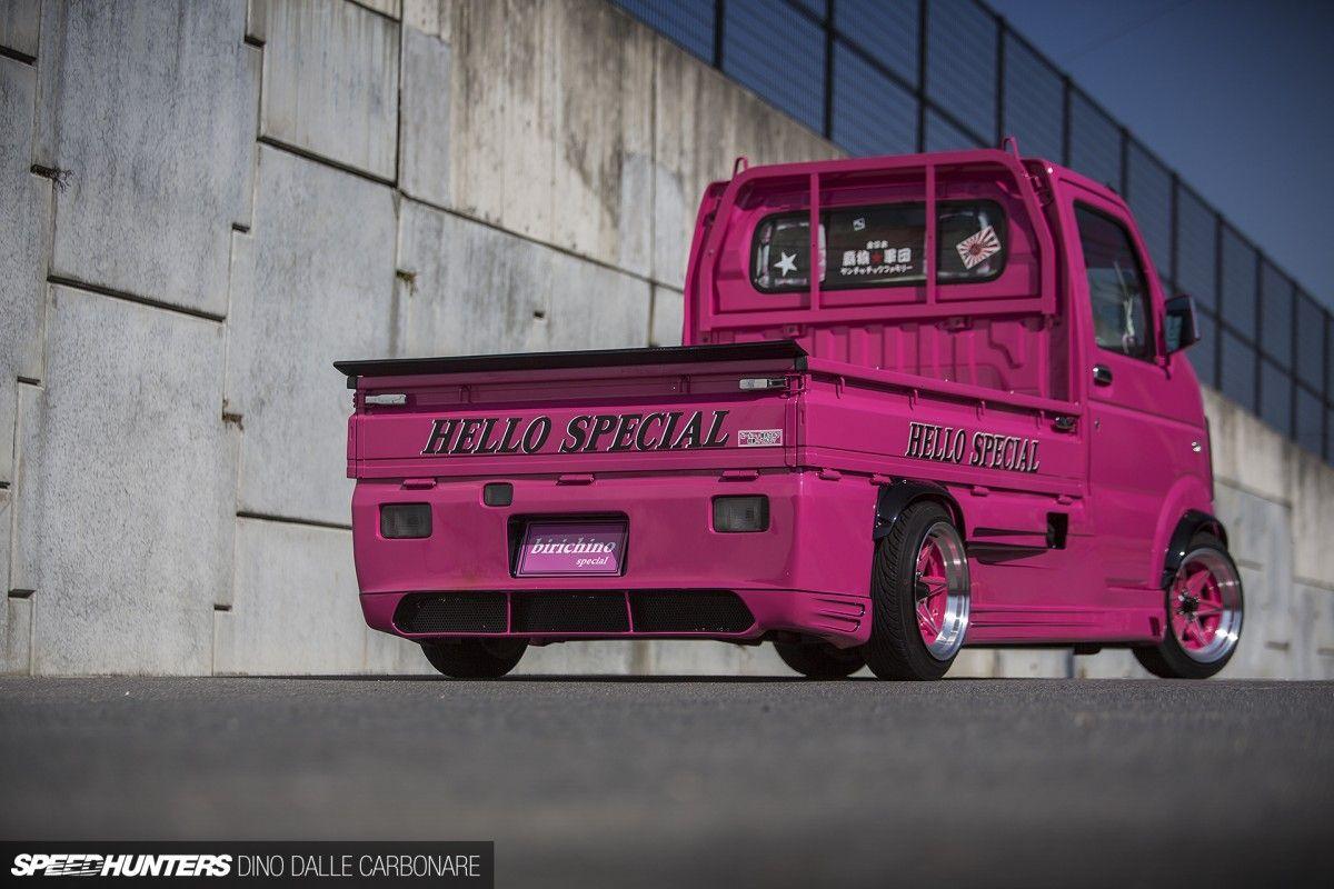 Micro Machine The Kei Drift Truck Speedhunters Drift Truck Suzuki Carry Mini Trucks [ 800 x 1200 Pixel ]