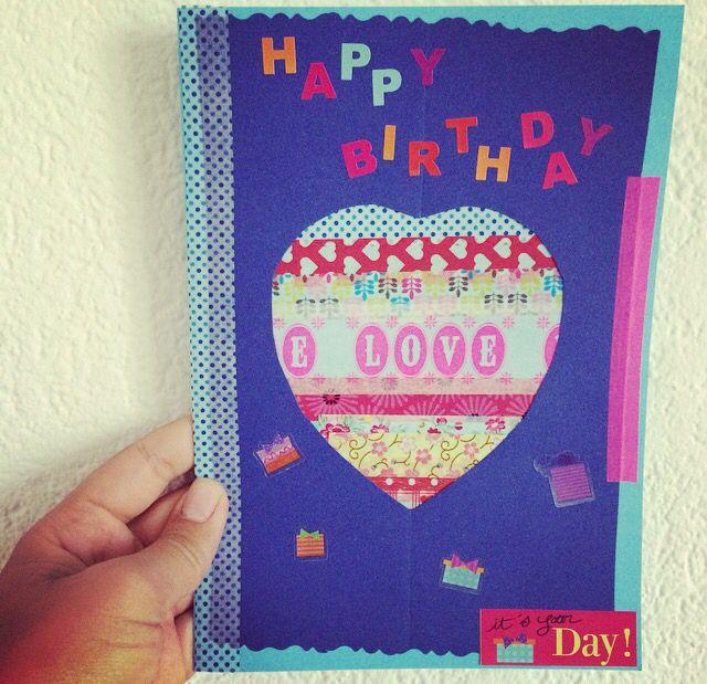 #Selfmade #Birthday Card!