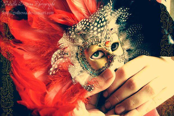 """La Máscara"" Poesía por Vanessa-C - http://bit.ly/1VApUK2   -  Be-OpenMinded -"