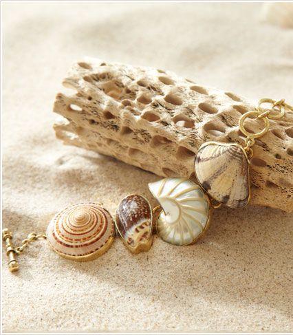 Beach Artifacts Bracelet from Soft Surroundings