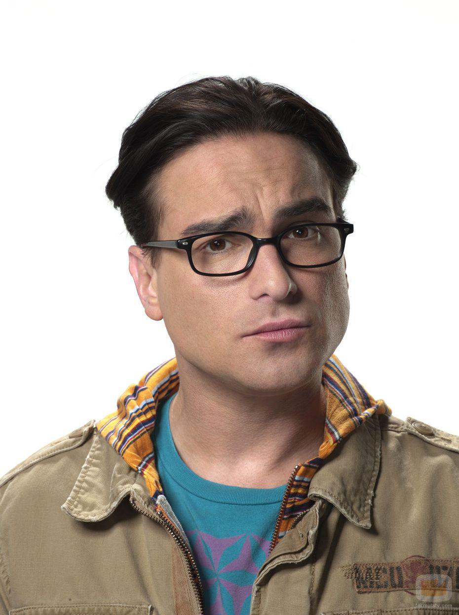 leonard hofstadter (johnny galecki)   lentes, anteojos, gafas