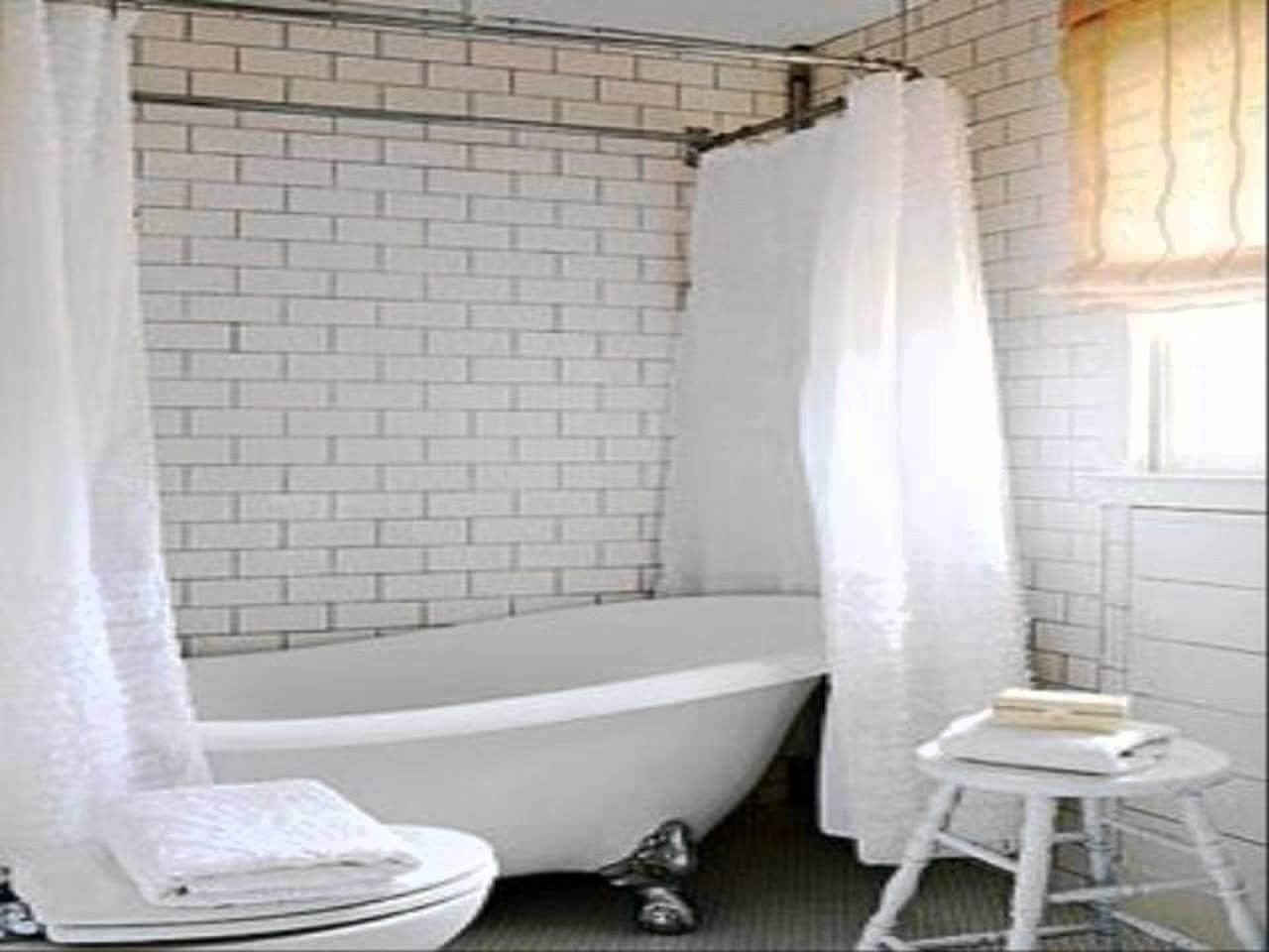Clawfoot Tub Shower Curtain Buying With Images Budget