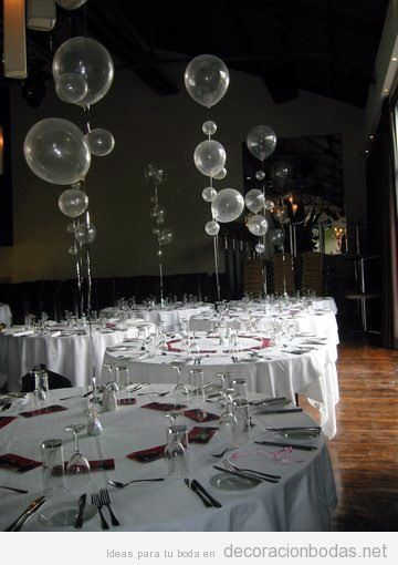 globos helio decorar mesas de bodas | fiesta de 15 brisa en 2019