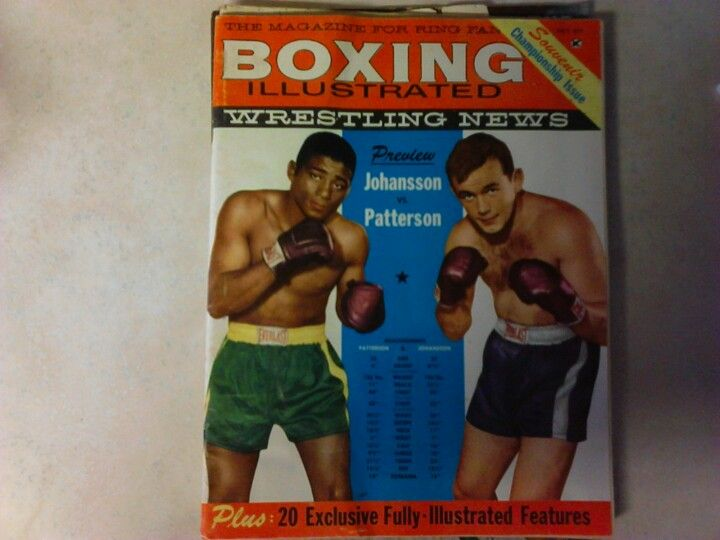 Boxing Illustrated July 1960 35¢
