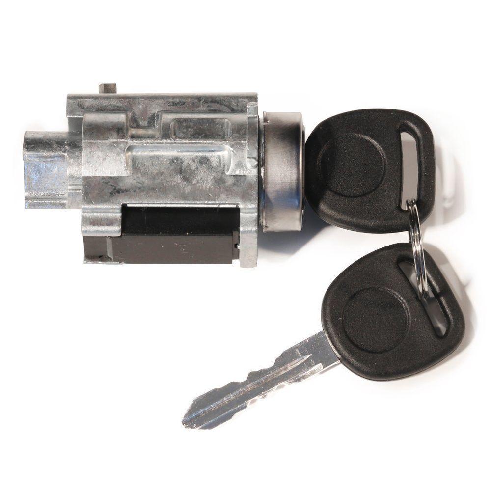 New Ignition Lock Cylinder Tumbler W Keys Lock Sensor Gm Chevy