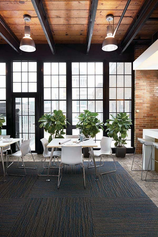 Progression I: Evening Dusk; Modern Office Designs. Flooring Ideas For  Collaboration Spaces And Recreation Areas. Warm Tones For Office Interiors.