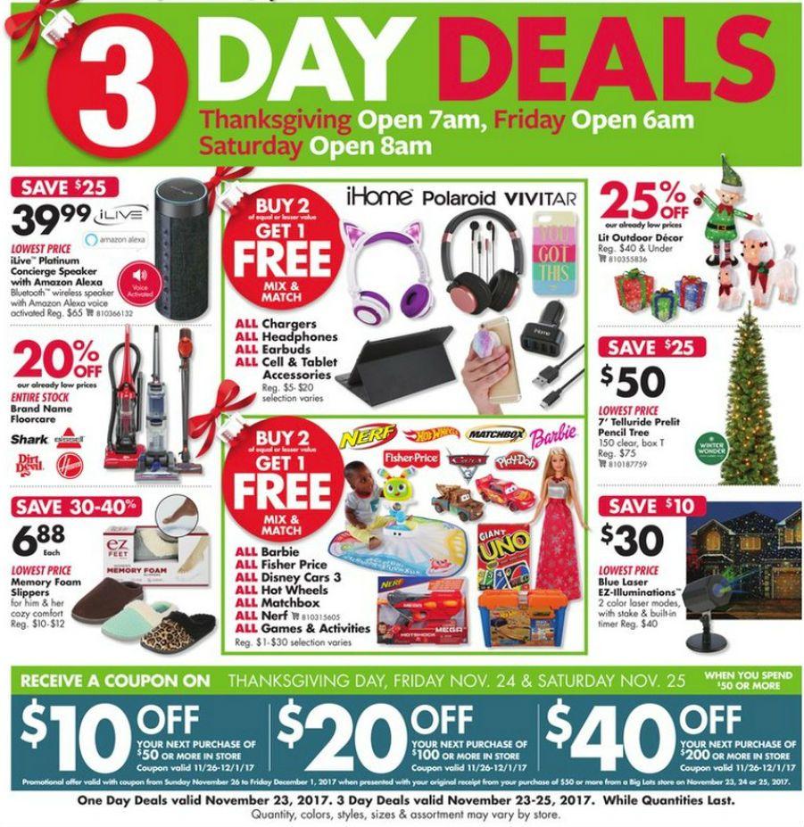 Big Lots Black Friday 2018 Ads and Deals