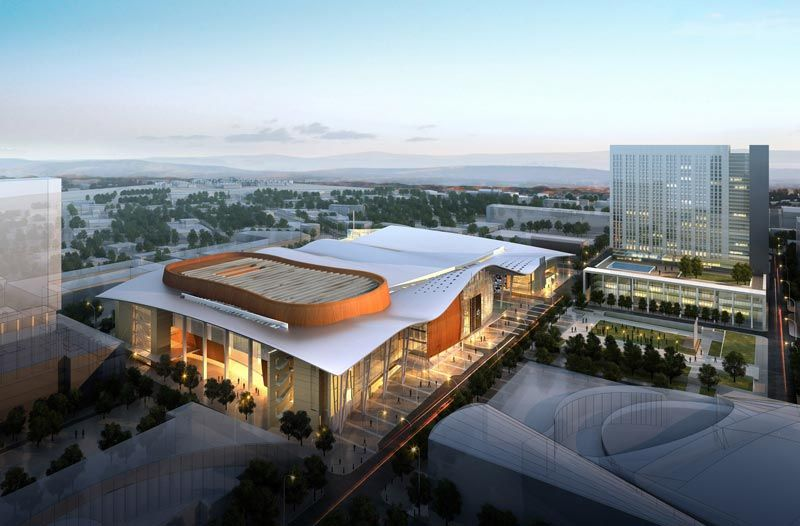 Jones Phillips Portfolio Nashville Attractions Music City Convention Centre