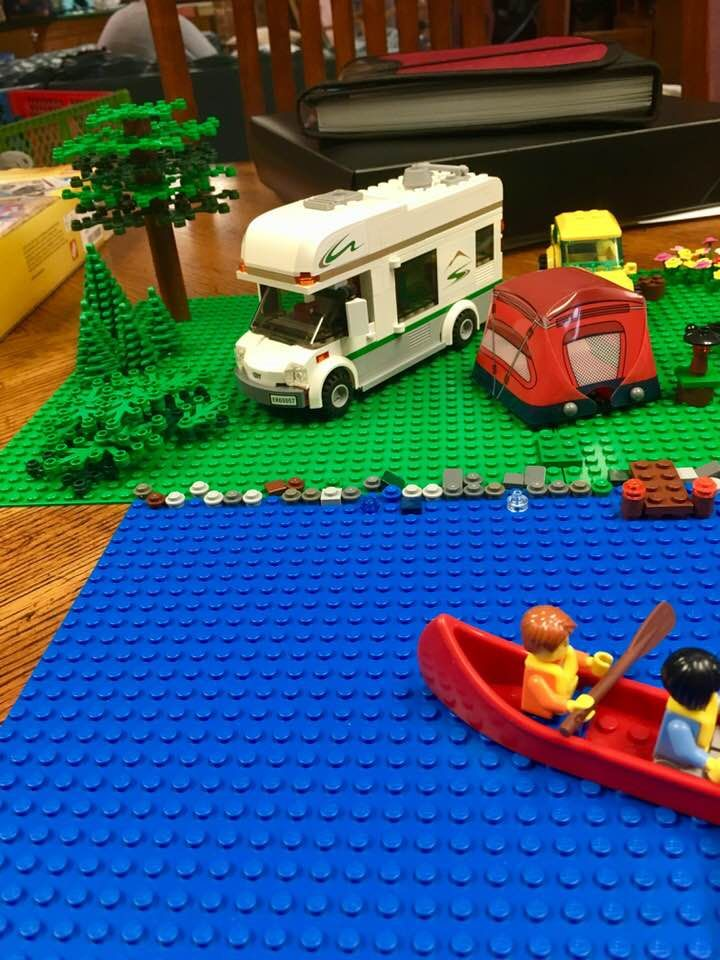 Okay This Is The Camper Van 60057 I Created The Trees And Foliage