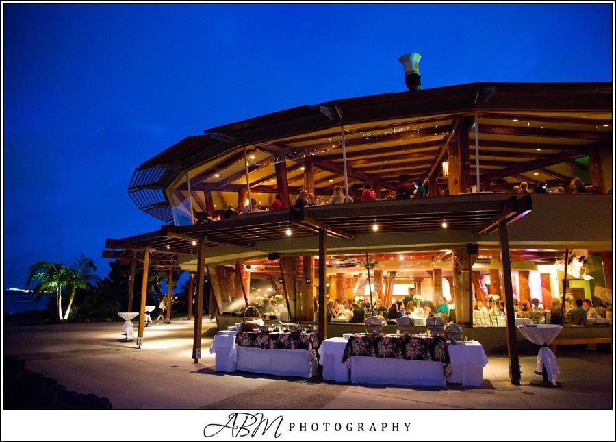 Bali Hai Wedding Night Fall Reception