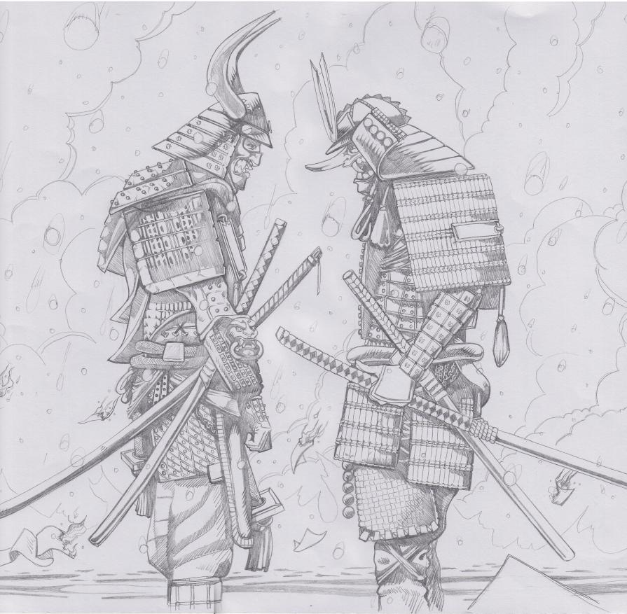 самурай арты карандашом называют заболевание