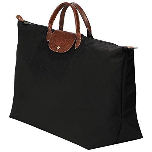 ExtraLarge Travel Bag XL black by longchamp paris LE PLIAGE
