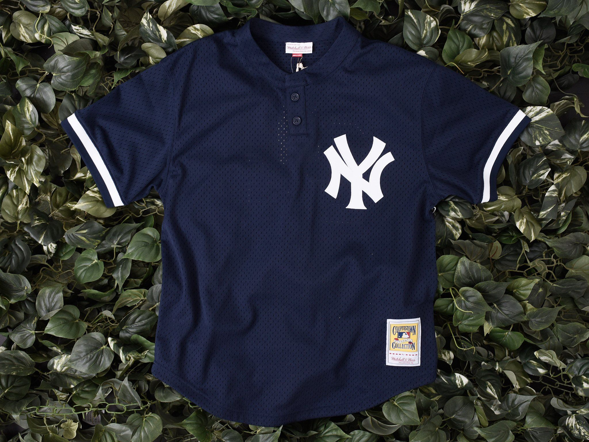 the latest 23a3e bc9aa Mitchell & Ness NYY Don Mattingly BP Jersey [5621-418 ...
