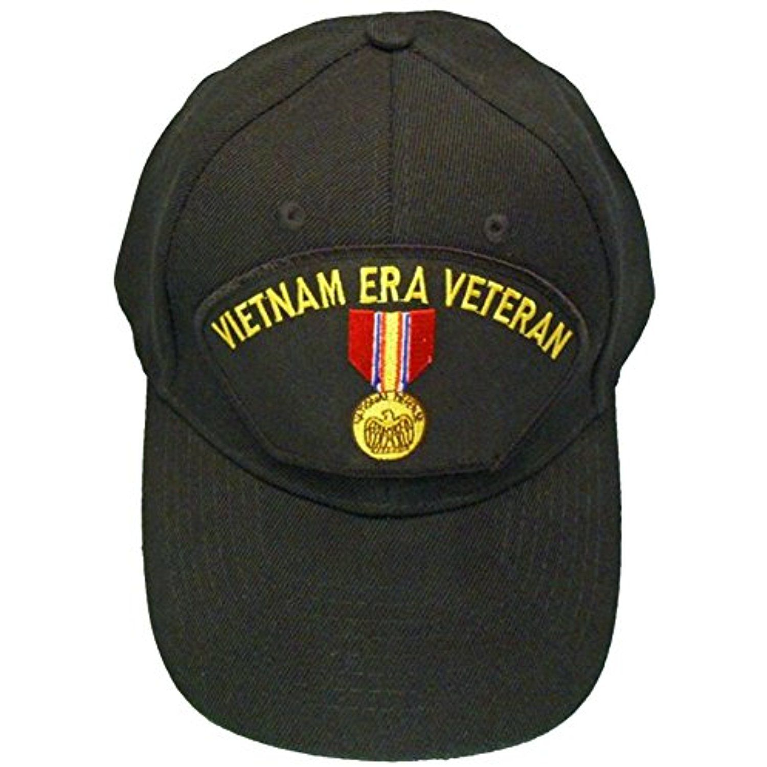 Vietnam ERA Veteran Baseball Cap Black Hat Vet National