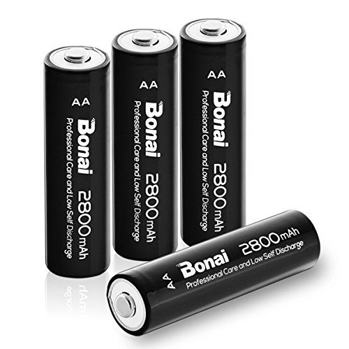 Bonai Aa High Capacity 2800mah Ni Mh Rechargeable Batteri Https Www Amazon Com Dp B072dt Rechargeable Batteries Smart Charger Rechargeable Battery Charger